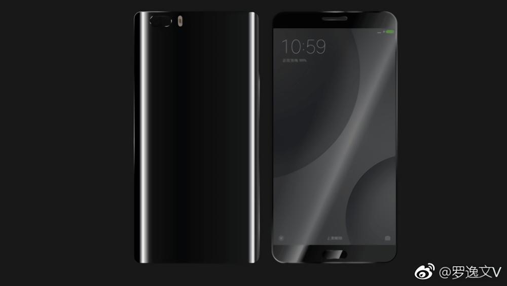 Suposta foto do Xiaomi Mi6 na cor preta