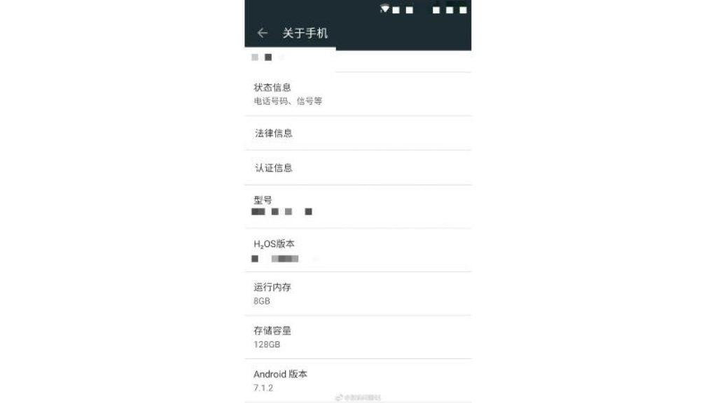 Especificações técnicas do OnePlus 5