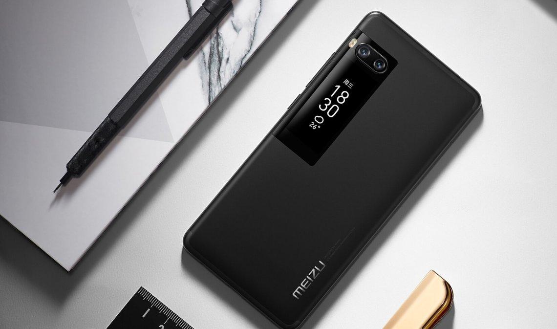 Meizu Pro 7 na cor black