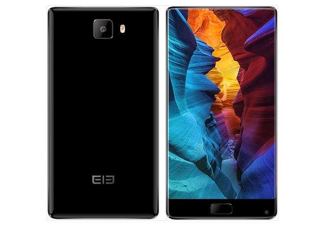 Elephone S8 na cor preta
