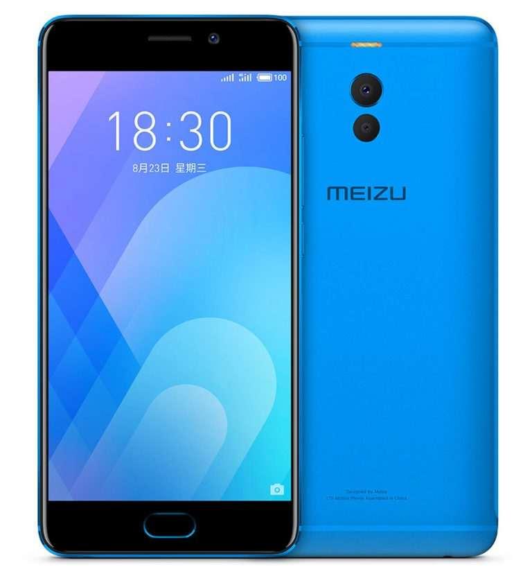 Meizu M6 note azul