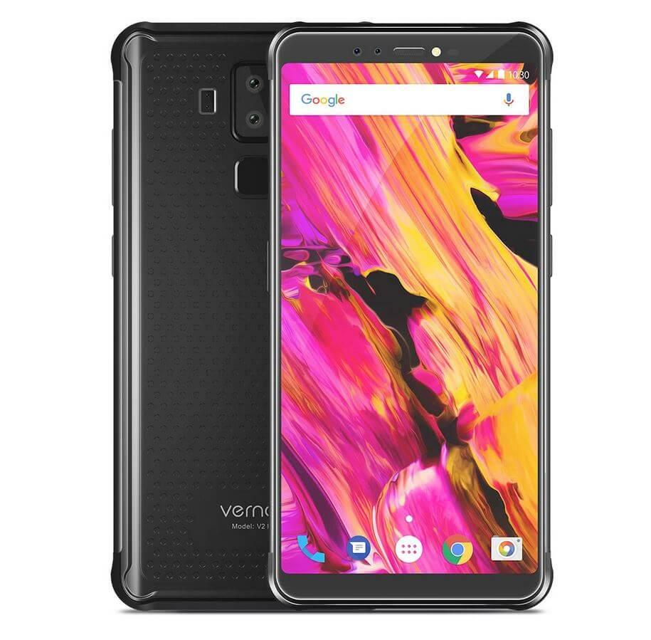 Vernee V2 Pro na cor preto