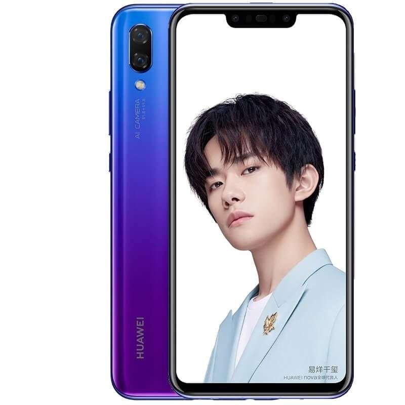 Huawei Nova 3 roxo