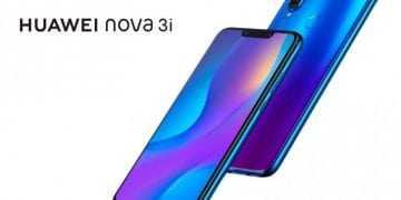 Huawei Nova 3i azul