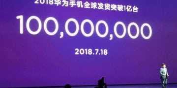 Huawei anuncia venda de 100 milhões de smartphones entre janeiro e julho de 2018