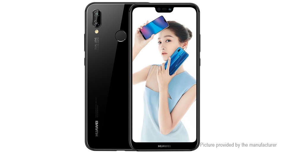 "Authentic Huawei nova 3e 5.84"" IPS Octa-Core LTE Smartphone (64GB/US)"
