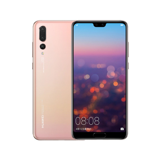 In Stock Global Version Huawei P20 Pro 4G LTE Mobilephone Kirin 970 Face ID 6.1 inch Full View Screen EMUI 8.1 24MP Front Camera