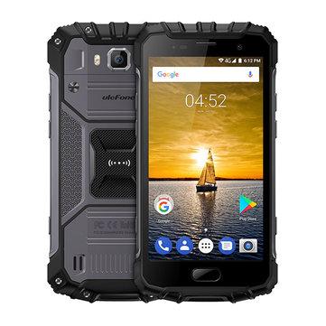 Ulefone Armor 2 5.0 Inch IP68 6GB RAM 64GB ROM Helio P25 Octa-Core 2.6GHz 4G Smartphone
