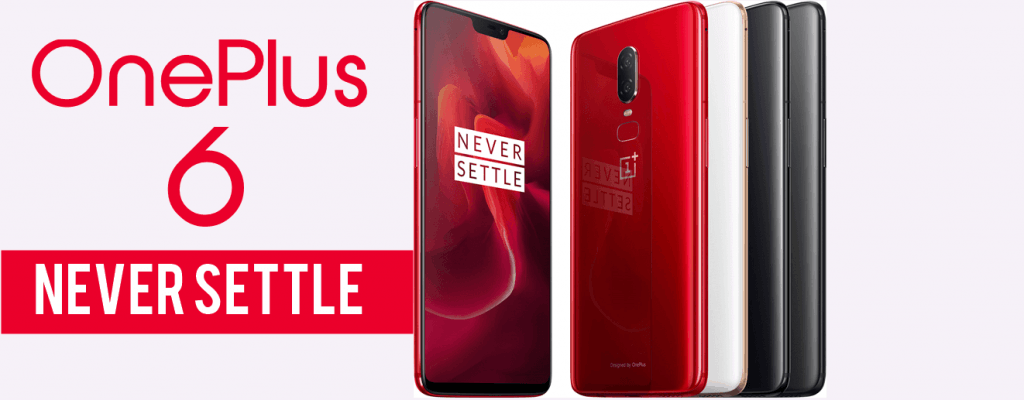 Todas as cores do OnePlus 6