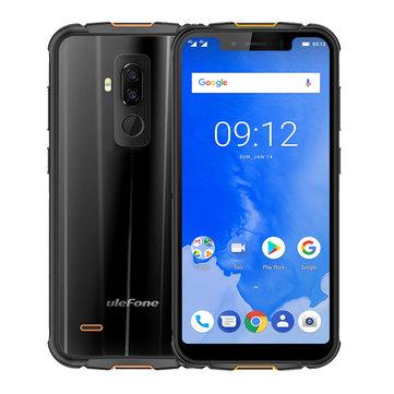 Ulefone Armor 5 IP68 Waterproof NFC Wireless Charge 5.85 inch 4GB 64GB MT6763 Octa core Smartphone