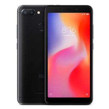 Xiaomi Redmi 6 Global Version 5,45 polegadas 3 GB RAM 32GB ROM Helio P22 Octa core 4G Smartphone