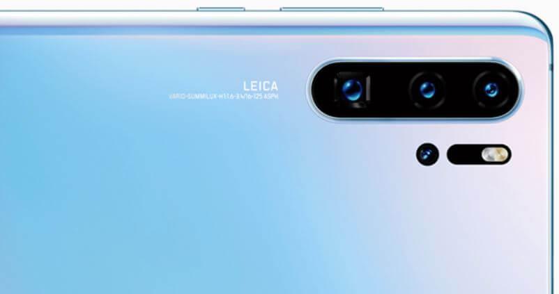 Câmera do Huawei P30 Pro
