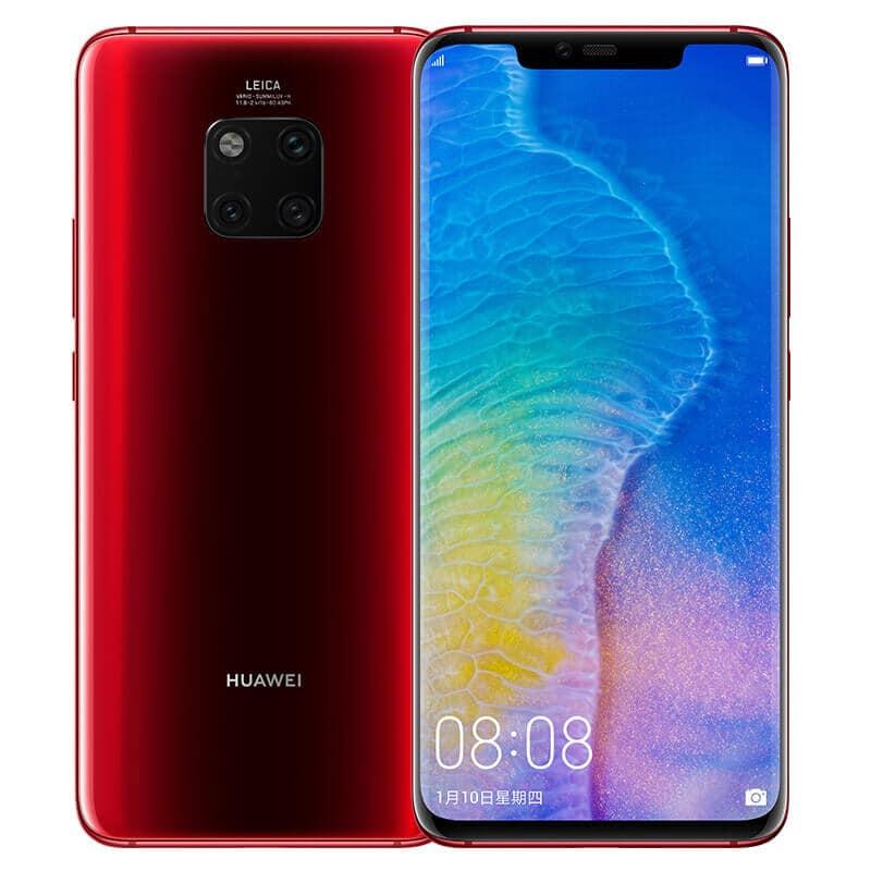 Imagem do Huawei Mate 20 Pro na cor vermelha
