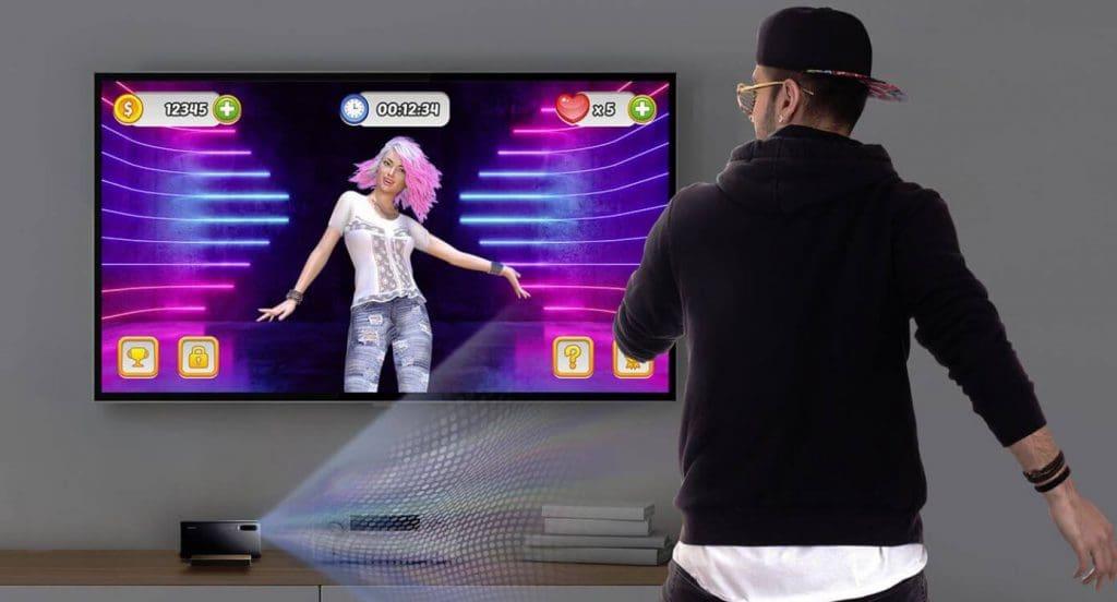 Jogo de dança do Huawei P30 pro