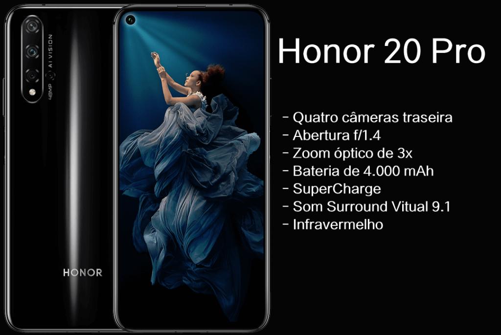 Ficha técnica do Huawei 20 Pro