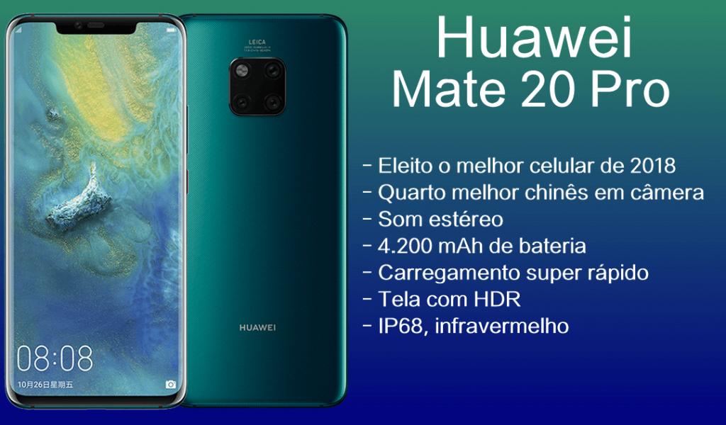 Especificações do Huawei Mate 20 Pro