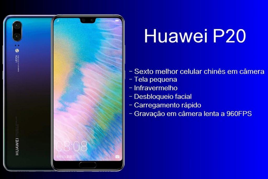 Ficha técnica do Huawei P20