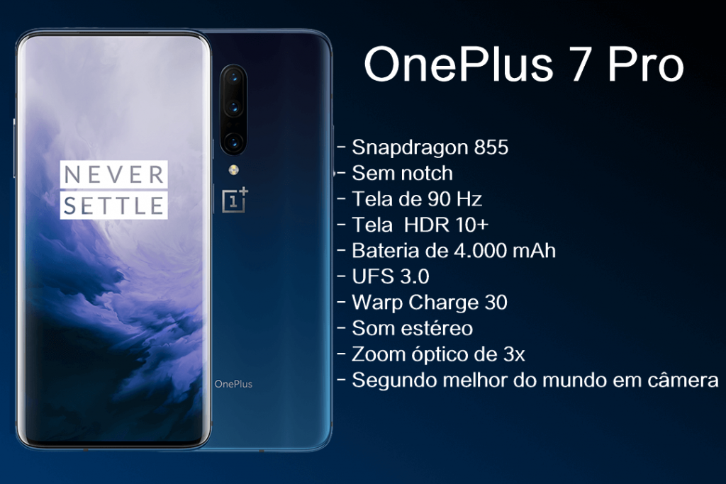 Ficha técnica do OnePlus 7 Pro