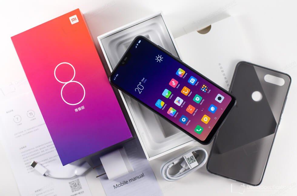 Foto do Xiaomi Mi 8 Lite