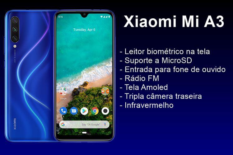 Ficha técnica do Xiaomi Mi A3